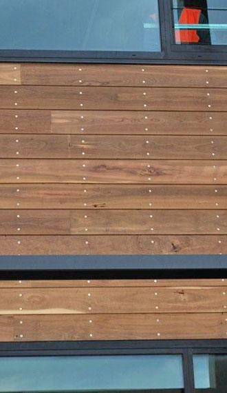 Photo of Australian Sustainable timbers FSC certified cladding timbers