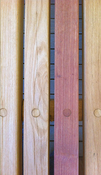 Photo of timber samples