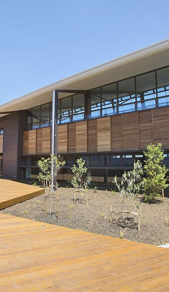FSC certified timbers for Wollongong University